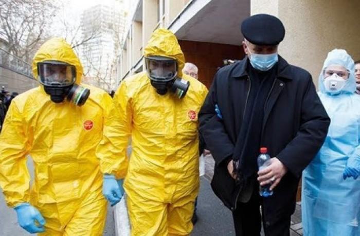 أوكرانيا تُسجل 13 وفاة و990 إصابة جديدة بكورونا