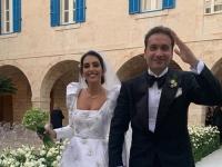 بعد وقفه بسبب كورونا.. صور جديدة من حفل زفاف فاليري أبو شقرا