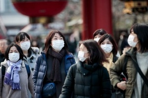 اليابان تُسجل 1331 إصابة جديدة بفيروس كورونا
