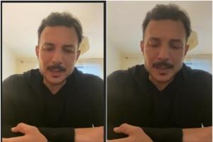 أول ظهور لـ باسل خياط بعد وفاة والده