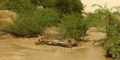 تصدعات في قناة ميكلان والسيول تنذر بجرف جسور جعار