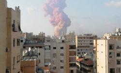 نقل عدد من الجرحى في انفجار مخزن بمرفأ بيروت إلى المستشفيات