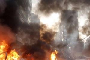 سقوط مئات الجرحى والقتلى في انفجارين متتاليين بيروت