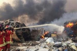 إصابة أمين عام حزب الكتائب في انفجار بيروت