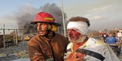 """""""بيروت"""" تتصدر ترندات تويتر بعد الانفجار الكارثي"""