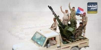 القوات الجنوبية تقصف مواقع الحوثي في مريس شمالي الضالع