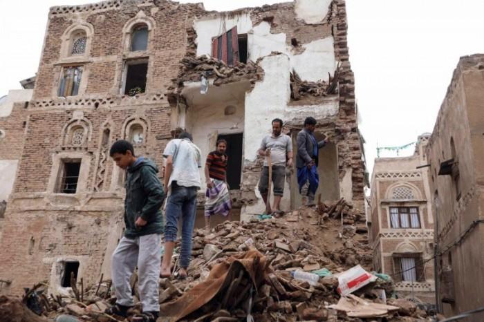 الإهمال الحوثي يدمر مدينة صنعاء القديمة