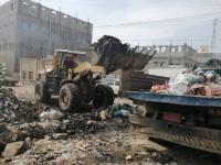 الانتقالي يشرف على حملة نظافة بردفان