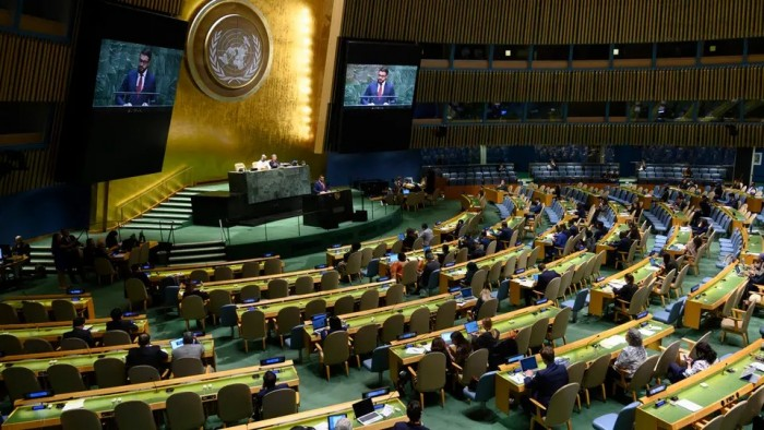 واشنطن: سنقدم مشروع قرار للأمم المتحدة لمد حظر السلاح على إيران