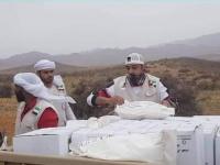 تجاوزت الطرق الوعرة.. مساعدات خليفة الإنسانية تصل لحومهيل بسقطرى