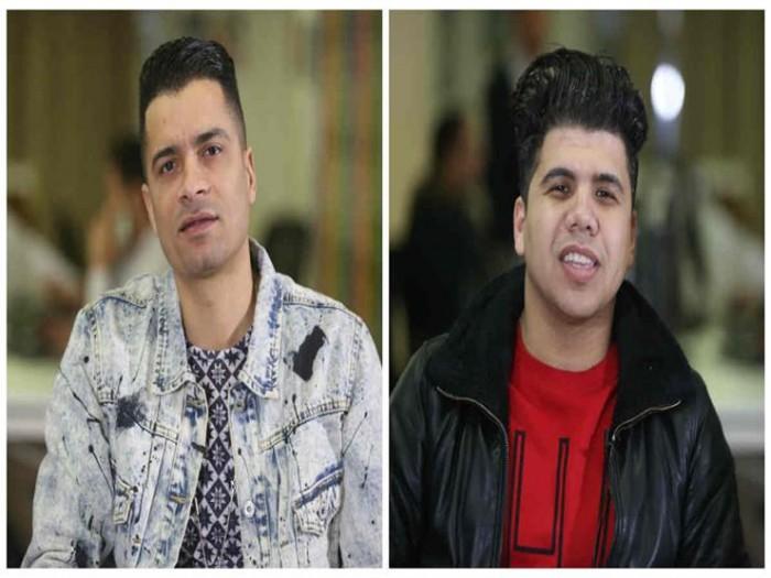 شاهد حسن شاكوش وعمر كمال في كواليس تسجيل أغنيتهم الجديدة (فيديو)