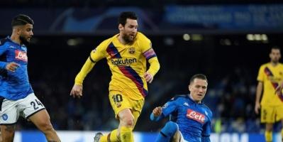 شاكير حكما لموقعة برشلونة ونابولي في دوري الأبطال