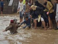غرق ثلاثة أشخاص جراء السيول في صنعاء