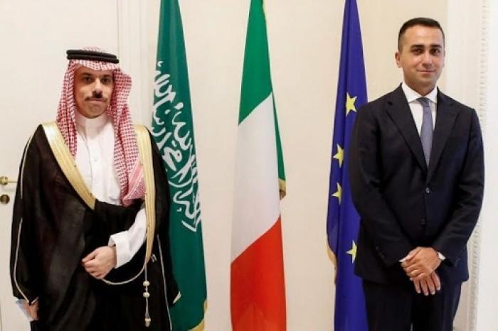 وزير الخارجية السعودي ونظيره الإيطالي يبحثان أبرز القضايا ذات الاهتمام المشترك