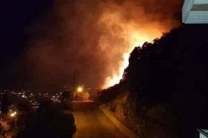 نكبة جديدة.. لبنان يشهد حريقًا هائلًا في جبل مشغرة