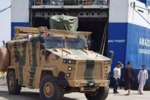 تركيا تُسلم مليشيا الوفاق 4 طائرات مسيرة وأسلحة متطورة