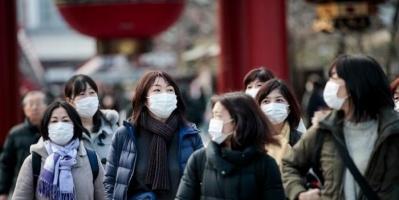 اليابان تُسجل 1597 إصابة جديدة بكورونا