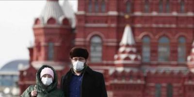 روسيا تُسجل 129 وفاة و5212 إصابة جديدة بكورونا