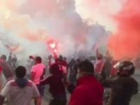 تعليق الدوري البيروفي لعدم التزام الجماهير بالتدابير الاحترازية