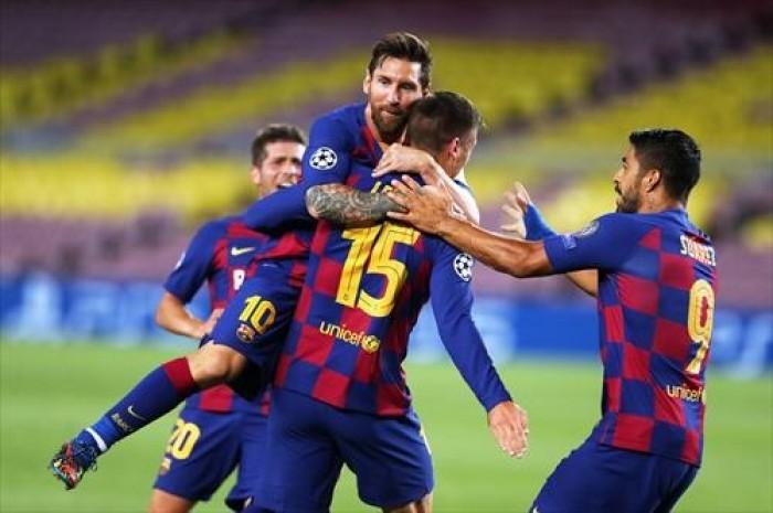برشلونة يتأهل للدور ربع النهائي من دوري أبطال أوروبا بثلاثية في شباك نابولي