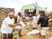 مساعدات إماراتية تصل إلى مومي في سقطرى