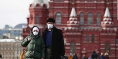 روسيا تُسجل 70 وفاة و5118 إصابة جديدة بكورونا