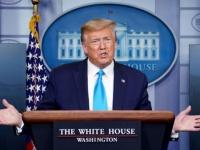 ترامب يستأنف المؤتمر الصحفي الخاص بكورونا بعد المغادرة المفاجئة