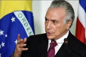 الرئيس البرازيلي يكلف ميشال تامر برئاسة بعثة مساعدات لبنان