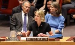 المندوبة الأمريكية لدى مجلس الأمن: على إيران وقف تسليح حزب الله