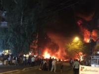 انفجار عبوة ناسفة استهدفت مقر الحزب الديمقراطي الكردستاني ببغداد