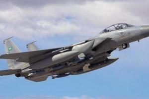 مقاتلات التحالف تقصف مجاميع حوثية في صعدة