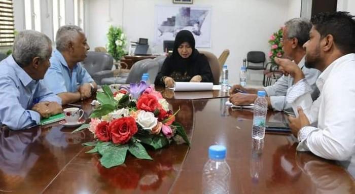 تفعيل البرنامج الاستثماري لمديرية الشيخ عثمان