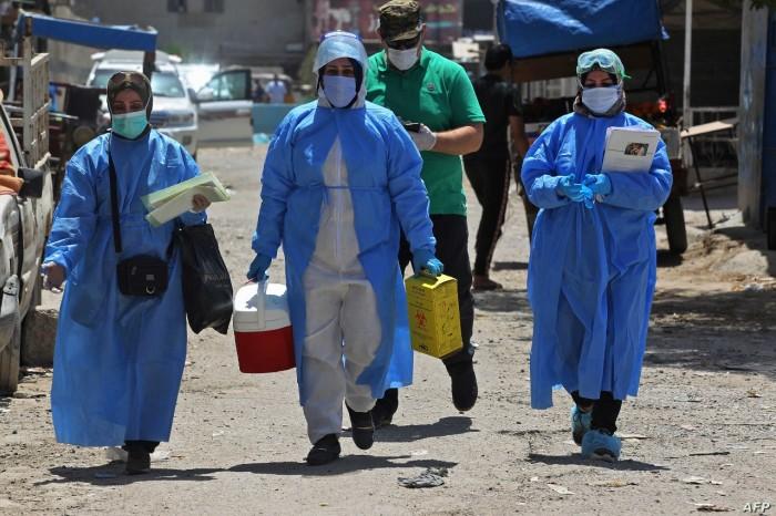 العراق يُسجل 68 وفاة و4013 إصابة جديدة بكورونا