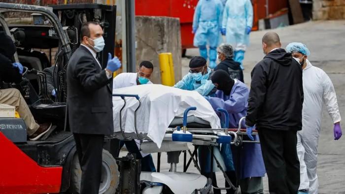 أمريكا تُسجل 654 وفاة و41 ألف و893 إصابة جديدة بكورونا