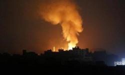سقوط قذائف صاروخية بمحيط قاعدة أمريكية بدير الزور