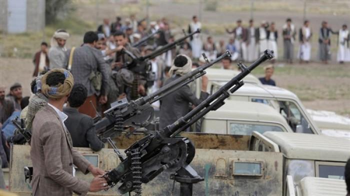 تدريبات حوثية بأسلحة ثقيلة وسط صنعاء