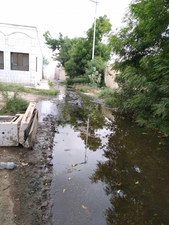 مستشفى الرازي يغرق في الصرف الصحي (صور)