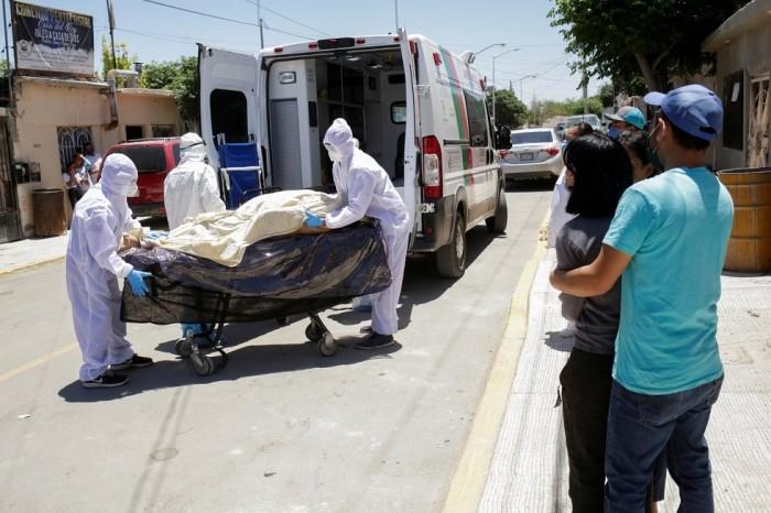 كورونا.. 5824 إصابة في المكسيك و552 وفاة