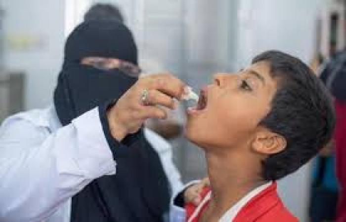 يونيسف: تطعيم 96�ن المستهدف ضد شلل الأطفال