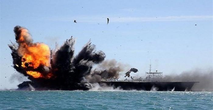 تدمير زورق مُفخخ أطلقته مليشيا الحوثي من الحديدة