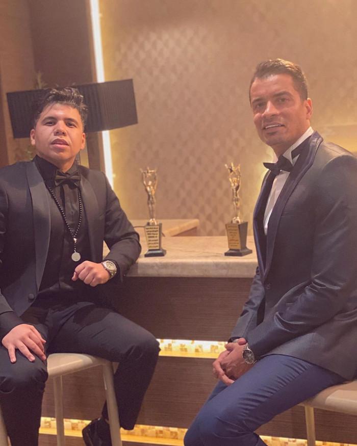 تكريم عمر كمال وحسن شاكوش بمهرجان الأوسكار الليبي في تونس