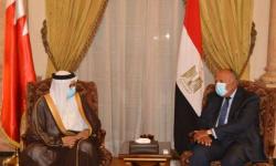 مصر والبحرين تبحثان تطورات الوضع في ليبيا