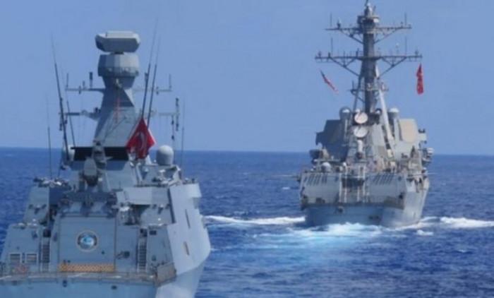 تركيا تصعد من جديد وتبدأ مناورات عسكرية مع شمال قبرص في شرق المتوسط