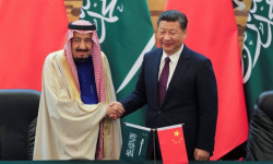 الملك سلمان يبحث مع الرئيس الصيني جهود مجموعة العشرين
