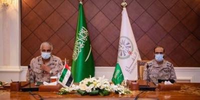السعودية والإمارات تبحثان سير العمليات العسكرية باليمن