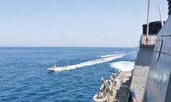 مناورات عسكرية بين البحرية الأمريكية وقبرص شرق المتوسط