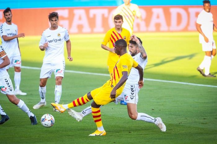 بمشاركة ميسي.. برشلونة يهزم جيمناستيك بثلاثية وديا