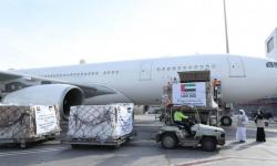 الإمارات تُرسل طائرة مساعدات طبية إلى العراق