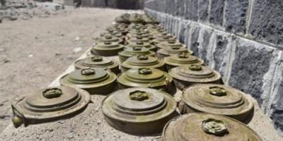 مسام ينتزع 1500 لغم حوثي في أسبوع