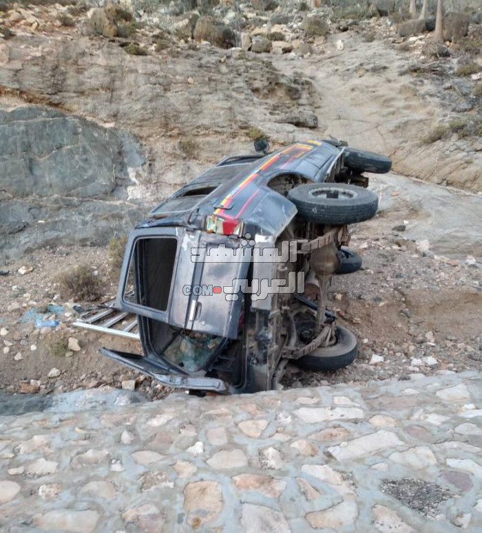 4 ضحايا في حادثين مروريين بسقطرى